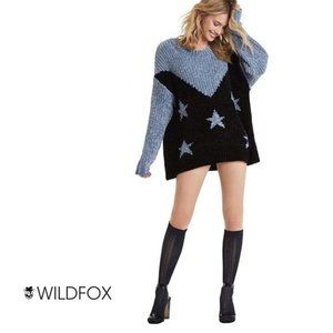 NWT WILDFOX Splendor Astral Oversized  Sweater M